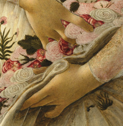 free-parking:  Sandro Botticelli, La Primavera (detail)