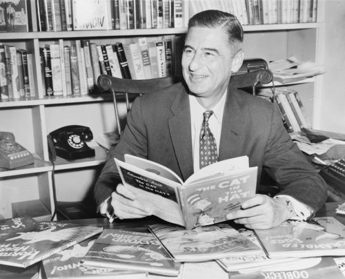 "tatteredcover:  Advice for writers from Dr. Seuss on his birthday: Happy, Happy, Happy, Happy, Happy, Happy, Happy, Happy, Happy, Happy Birthday, Doc, wherever you are! ""It has often been said there's so much to be read, you never can cram all those words in your head. So the writer who breeds more words than he needs is making a chore for the reader who reads. That's why my belief is the briefer the brief is, the greater the sigh of the reader's relief is. And that's why your books have such power and strength. You publish with shorth! (Shorth is better than length.)"" ― Dr. Seuss"