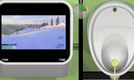 (via Play while you pee: urinal-based games console granted patent | Technology | guardian.co.uk)