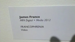 James Franco RISD project from: http://mindstuffs.blogspot.com/2012_02_01_archive.html#7938491048817198720