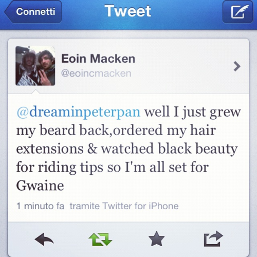 Eoin Macken replied me again. Kancajkegysibedwhdkrngeie *-*