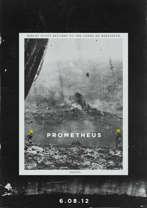 RIDLEY SCOTT'S PROMETHEUS FILM POSTER CONCEPT # 5 OF 12