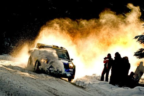 rallying:  Mini snowplow