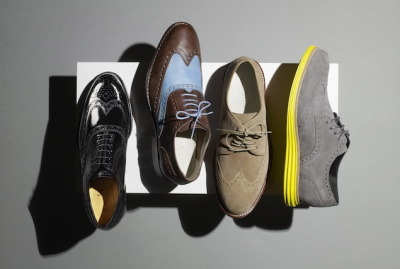 Cole Haan - Evolution of the Wingtip Great picture into how menswear has evolved, why the cyclical nature of style will keep now keep mens style a popular subject. On the far right, the Lunar Grand Wingtip is a super modern take on the classic style. A perfect example of why the rise of Menswear will continue to stick - we pay homage to our heritage, while updating the function More Here