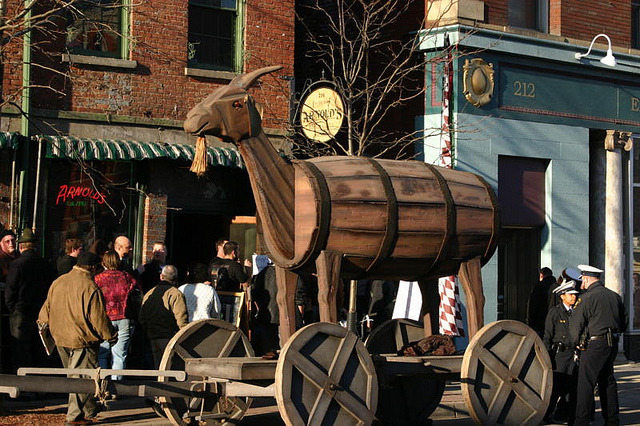 20th Annual Bockfest! via the OTR blog:  Bockfest 2012 is here! The festivities begin with the Bockfest Parade! Via Bockfest.com: The Bockfest Parade will be held on Friday March 2, 2012. The parade will start to form in front of Arnold's Bar and Grill, located at 210 East 8th Street, at 5:30PM and steps off on Main Street at 6:00PM. The Bockfest Parade is Cincinnati's funkiest and most entertaining parade. It can be watched from the street or from a number of participating venues along the route.