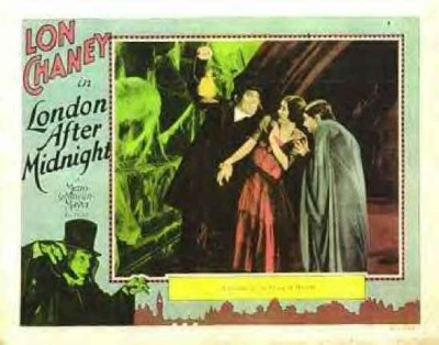 Top Ten Lost Films #10: London After Midnight (1927) This silent movie is, arguably, the most sought after lost film. The interest here is Chaney's portrayal of a vampire. It's directed by Todd Browning, who later directed Dracula, with Bela Lugosi.