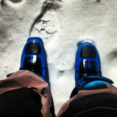 Good to go! #skiing #snow #fulltilt #boots #fulltiltboots #winter #saga #outerwear #fromwhereistand #cold #sunny #blue #feet #goodday #happy #stoked #instagood #instagram #ig #skis #heavenly #hashtag #followme #popular (Taken with instagram)