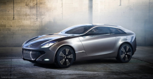 "This is what future Hyundais could look like: carmaker reveals i-oniq concept for Geneva Motor Show  As it's this time of year, the Hyundai i-oniq is set for a Geneva motor show debut next week, and is a  balls-out statement of intent from the company showcasing its future  design. It measures 4.4m long - a smidge over a Ford Focus - and offers space  for four. We haven't been shown any interior shots, but are promised  ""future premium consumer electronics technology"" and ""high-tech  equipment"". It'll probably offer more tech than say, Short Circuit, but won't be far off Minority Report."