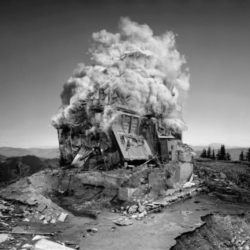 arreter:  Jim Kazanjian Portland artist jim kazanjian's body of work consists of crisply composed digital images that explore the surrealist side of space and architecture. drawing from literary influences such as h.p. lovecraft and algernon blackwood, kazanjian's pictorials illustrate a fantasy-driven world that seemingly celebrates relics and decay. having worked as a commercial CGI artist for television, fashion, and game production, his method of creating largely involves recomposing a number of photographs in bits and pieces.