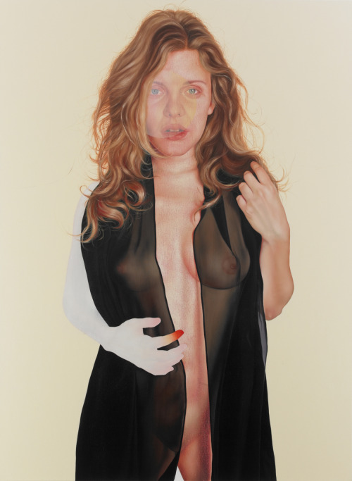 "Jenny Morgan ""Credence"" oil on canvas, 75 x 55 in, 2011"