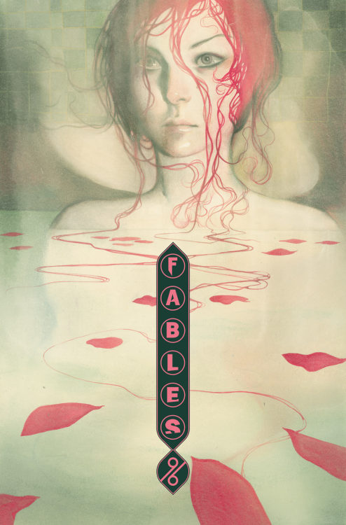 comicbookarts:  Fables 96 Cover Art by Joao Ruas Much as I love James Jean's work on Fables, this beautiful picture has to be my favourite.
