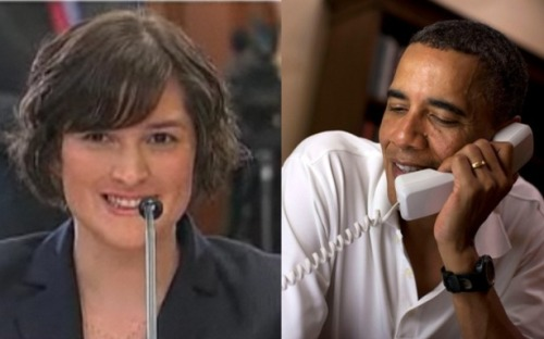 "theatlantic:  Obama to Sandra Fluke: Your Parents Should Be Really Proud  After Rush Limbaugh called Sandra Fluke a ""slut"" and ""prostitute"" for testifying to Congress about the need for contraceptive health care coverage, the Georgetown law student became something of a lightening rod. Now President Obama has called to thank her. The President called Fluke on the phone just before her appearance on Andrea Mitchell Reports on MSNBC Friday, she told Mitchell, and offered words of support and an implicit rebuke of Limbaugh. This comes after Speaker John Boehner criticized the conservative radio host and at least one advertiser abandoned his show. Fluke told Mitchell, ""[Obama] encouraged me and supported me and thanked me for speaking out about the concerns of American women, and what was really personal for me was that he said to tell my parents they should be really proud."" Read more. [Images: MSNBC/Reuters]"