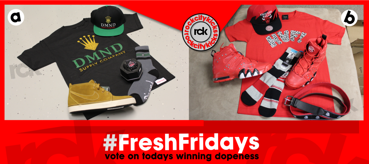 #FreshFridays - VOTE for the freshest fit !!!! VOTE HERE !!!!!