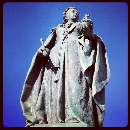 Queen victoria  (Taken with instagram)