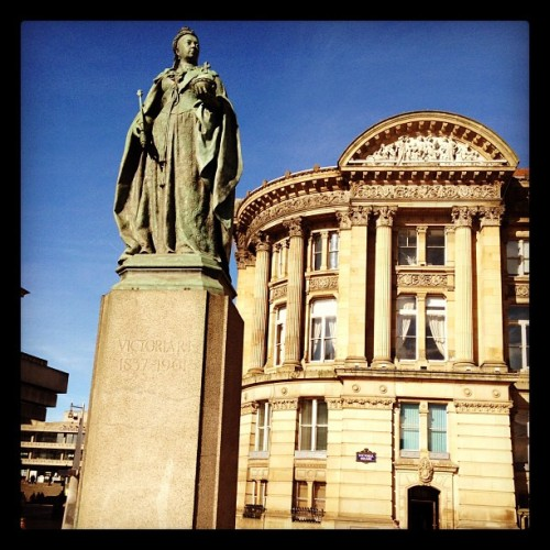 Victoria and the council house  (Taken with instagram)