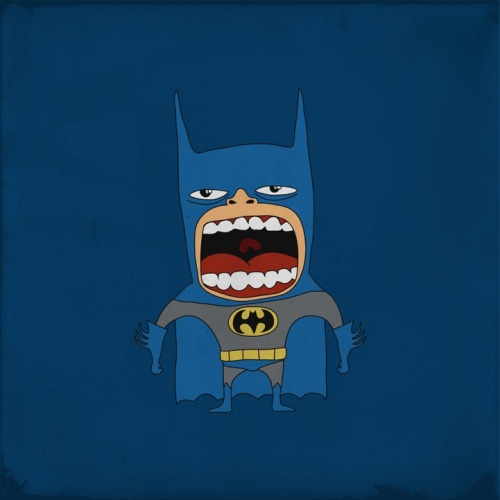 Screaming Heroes by http://thatdesignbastard.com/