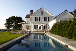georgianadesign:  Federal-style waterfront home in Southport, CT. Hobbs Inc. and architect Peter Zimmerman.