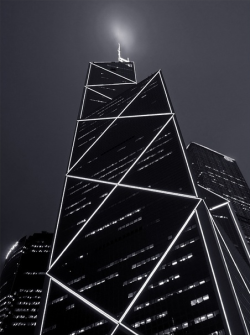 motherraisedamystic:  Bank of China tower in Hong Kong