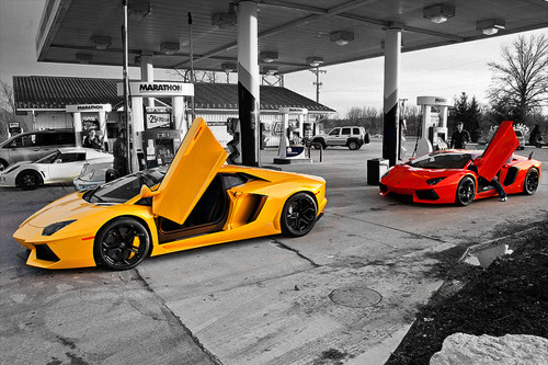 world-fam0us:  m0nopoly:  Yellow or red one?  Both   red