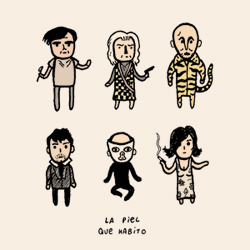 Characters from The Skin I Live In, by Pedro Almodovar. A brilliant film!