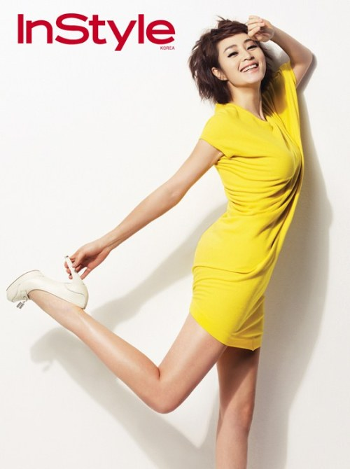 kim hyesoo, instyle korea april 2012