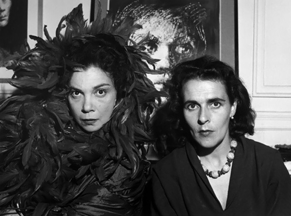 Leonor Fini and Leonora Carrington