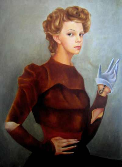 Leonor Fini, Self-Portrait