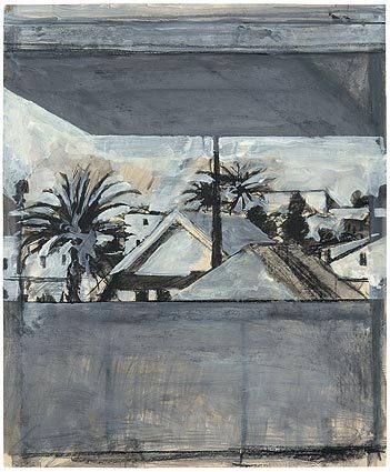 Untitled (View From Studio Ocean Park), 1969 by Richard Diebenkorn. From the artist's exhibit now on view at the Orange County Museum of Art. More on that here.