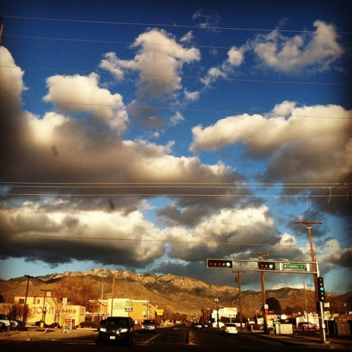 whereoncewaslove:  #albuquerque #sky 😍 (Taken with instagram)