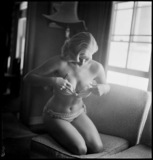 Anita Ekberg, 1953. Photo by Phil Stern.