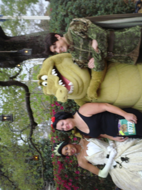 Tiana, Louis, and Naveen from PATF