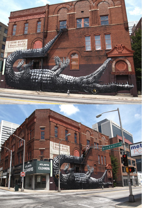 szymon:  ROA in Atlanta - Living Walls Conference