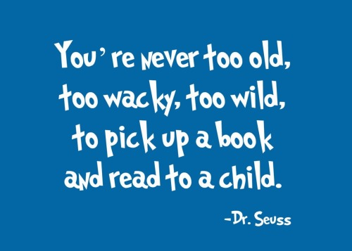 A bit overdue, but happy belated birthday Dr. Seuss!