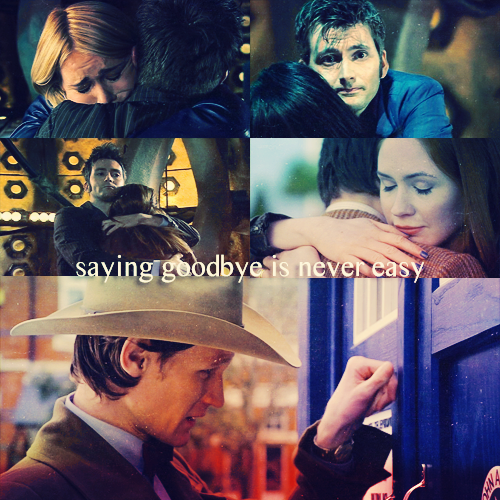 """Saying goodbye is never easy."""