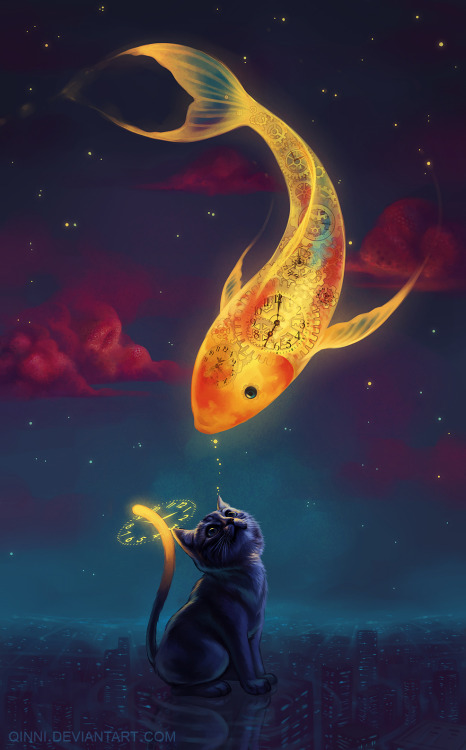 artmonia:  To Catch a Moon-Fish | Qinni