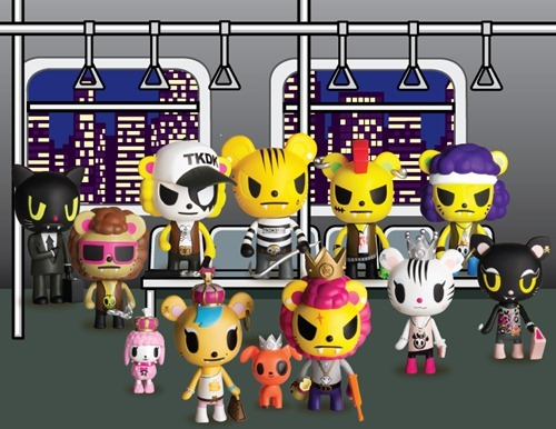 albotas:  A Little Bit on the Pride Side: According to Vinyl Pulse, tokidoki will be releasing the full set of Royal Pride figures this May for just under $8 each. There will be ten kitties, two pups, and two chases. My money says one of the chases is a dog holding a ring in its mouth.