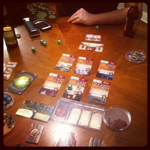 Elder Sign #boardgame #gamenight  (Taken with instagram)