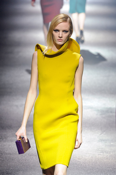 beautyandchanel:  Bright Yellow @ Lanvin