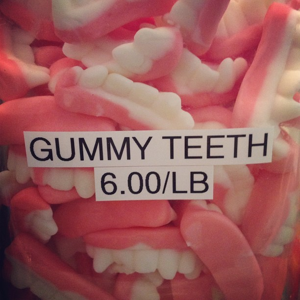 Teeth (Taken with Instagram at Shubert's Ice Cream & Candy)