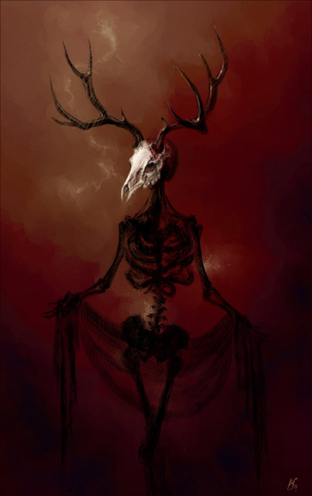 naturepunk:    Bones by ~krizdole