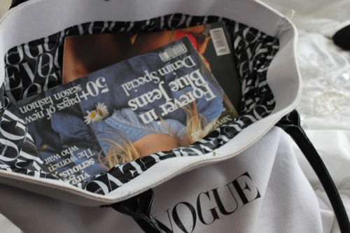 savarnas:  Vogue bags are the best.