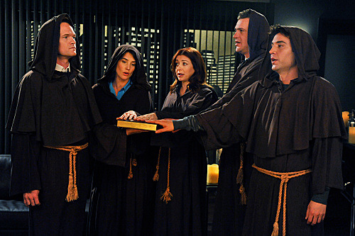(Spoiler pic for March 19th ep.) This is why I love HIMYM!  They can have the most outrageous moments and then the sweetest moments! It's the only show that can pull this formula off flawlessly!!! BTW, this episode looks amazing!