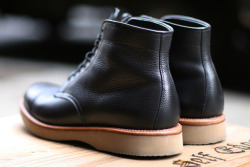 nachoshoes:  Self Edge X Leather Soul X Alden Boots