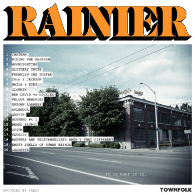 pamjane:  Sabzi just dropped a new beat tape appropriately dubbed Rainier. Best 5 bucks I've spent in a while. Really.   Sabzi does it again!