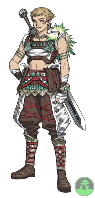 epsilongenocide:  I like the concept art for the Jungle Armor  Best armor set in the game LOL