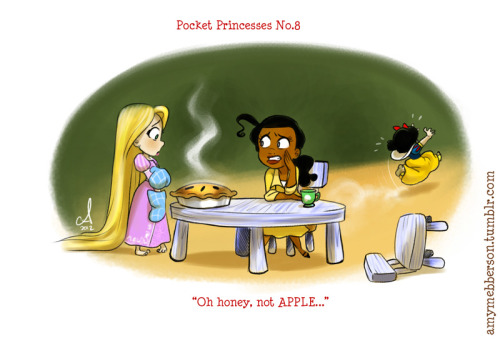amymebberson:  Pocket Princesses 8: Pie