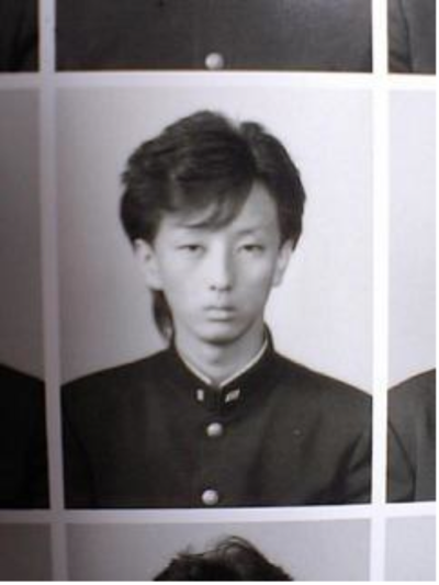 kiyotaro:  believe it or not: this is Kiyoharu in his graduation album.