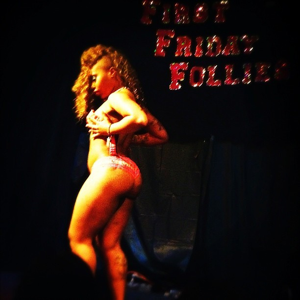 #firstfridayfollies #burlesque #oakland (Taken with instagram)