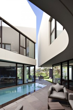 homeandinteriors:   Located in Al-Nuzha, a suburb of Kuwait city, Kuwait, design by  AGI Architects