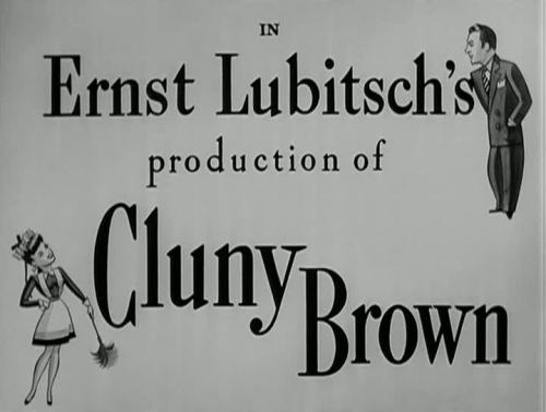 Cluny Brown by Ernst Lubitsch - 1946